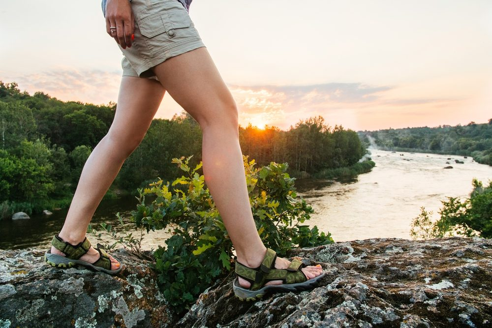 using the best walking sandals for women