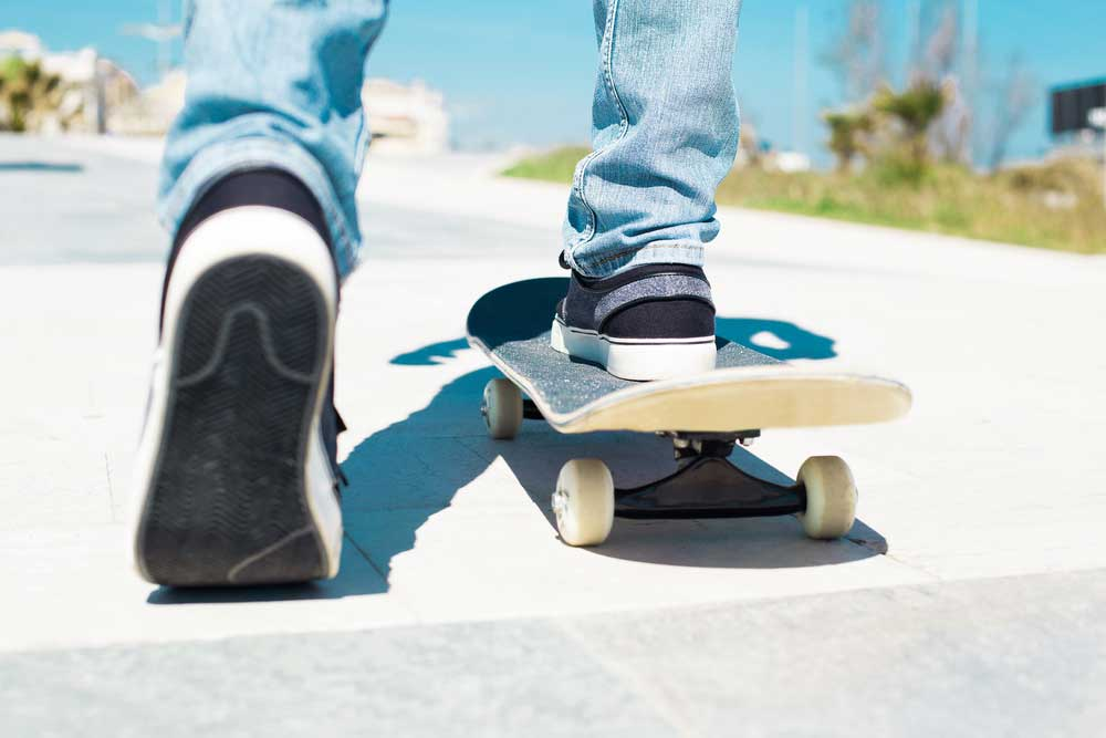 Learn How to Skate First