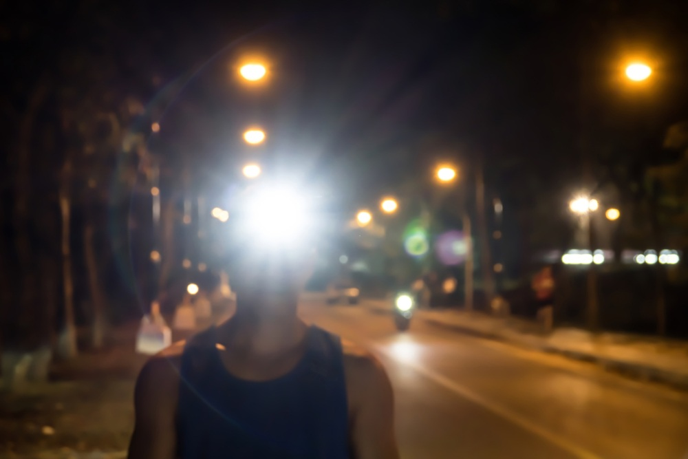 Brightness of headlamp